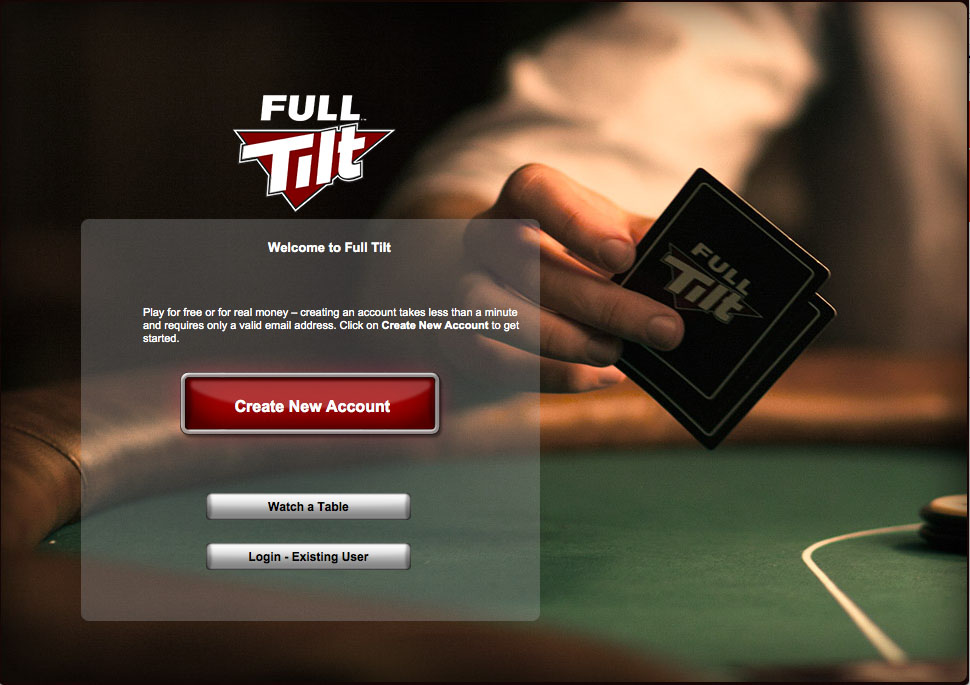 I have very good memories about Full Tilt poker. Back in the days, (I'm talking 2004, maybe 2005) the biggest online poker sites were either very serious