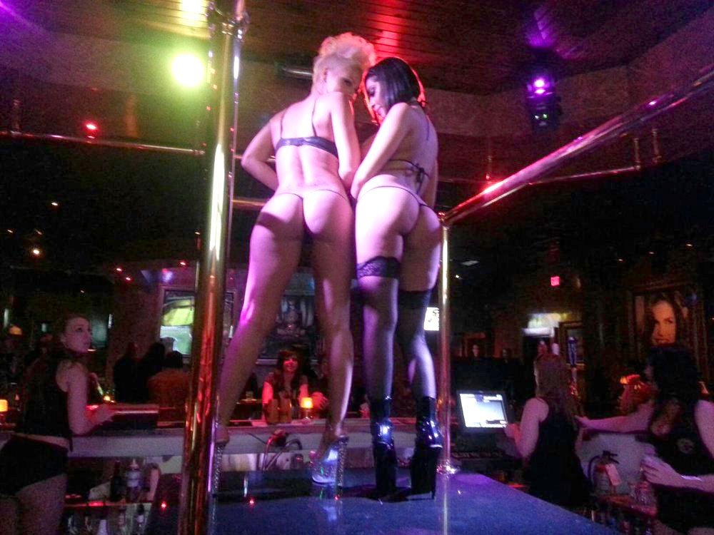Strip club in vegas