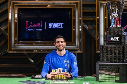 Art Papazyan wins another WPT event!