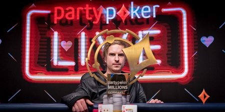 Viktor Blom binks partypoker Millions Germany with sick call