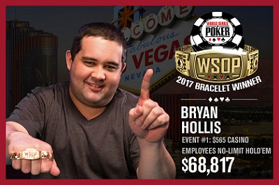 2017 WSOP: Liv Boeree and Igor Kurganov win Tag Team bracelet
