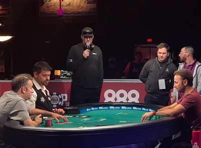 2017 WSOP: Daniel Negreanu heads-up for bracelet