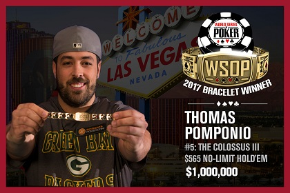 2017 WSOP: Abe Mosseri and David 'Gunslinger' Bach win bracelets