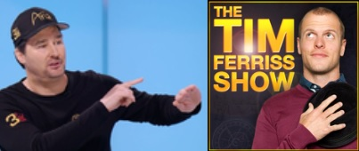 Phil Hellmuth on the Tim Ferriss podcast