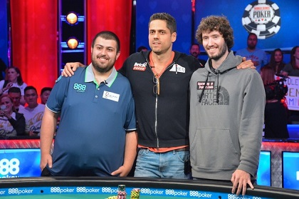 2017 WSOP: Blumstein leads final 3 in Main Event