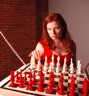 Jennifer Shahade simultaneously crushes chess and online poker