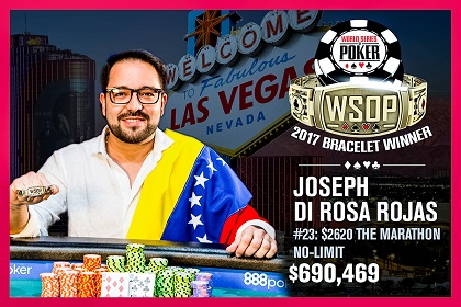 2017 WSOP: Chris Moorman, Brian Brubaker, and Joseph Di Rosa Rojas win bracelets
