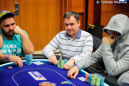 EPT Prague: Luuk Gieles Leads the SHR and Godfather of Czech Poker Martin Staszko Still Alive in Eureka5 Main Event