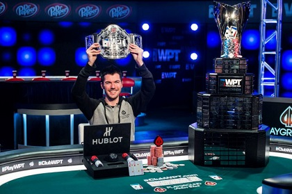 Maxime Heroux wins WPT Montreal