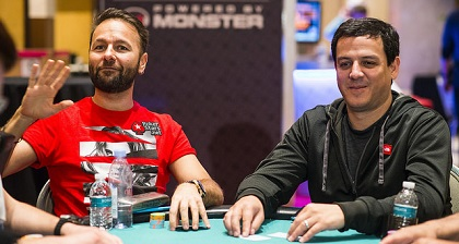 Negreanu and Mortensen