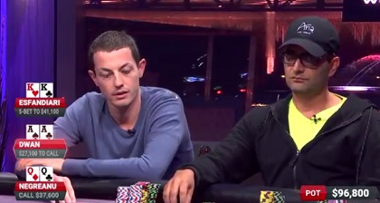 Tom Dwan wins $700K Pot on Poker After Dark
