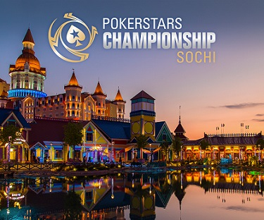 PokerStars announces a new PokerStars Championship stop in Sochi, Russia