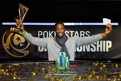 Kalidou Sow wins PokerStars Championship Prague Main Event