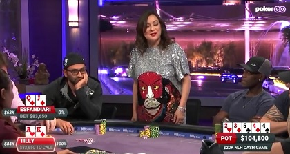 Poker After Dark: Antonio Esfandiari vs. Jen Tilly