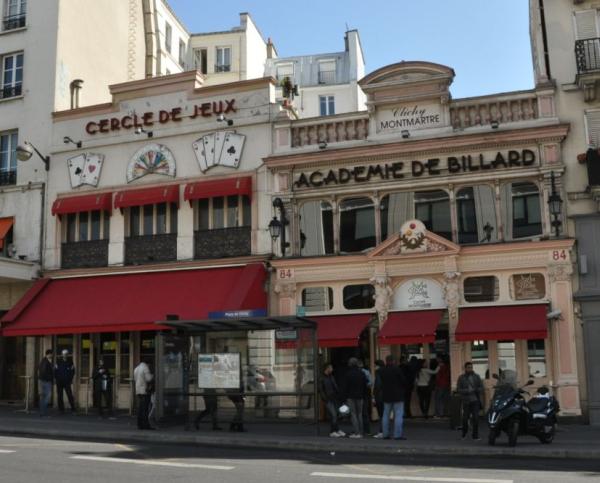Cercle clichy montmartre paris
