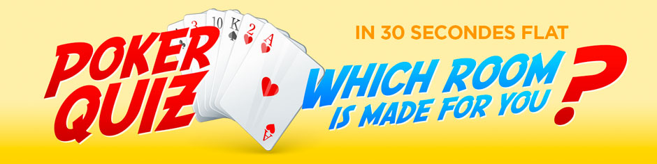 What poker site to choose? The quiz!