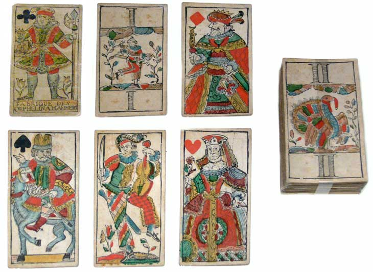 Tarot cards 18th century