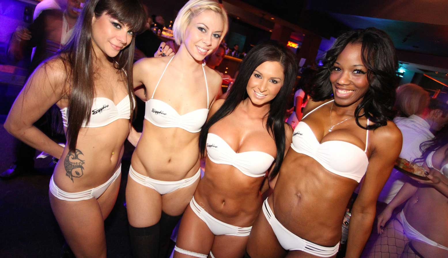 Would hot bikini girls strip party the