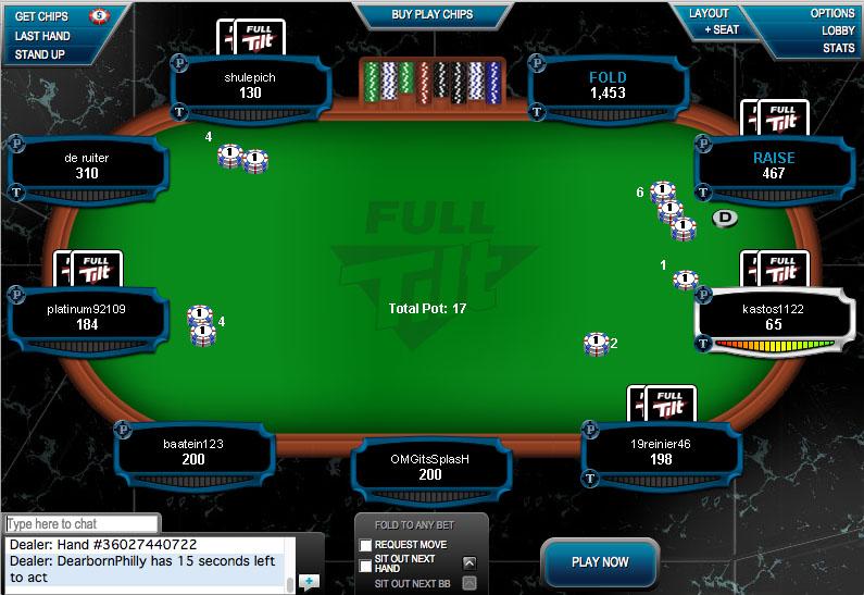 Full Tilt Poker 400 Deposit Bonus Online Poker