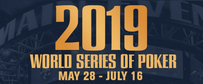 2019 WSOP: List of Bracelet Winners