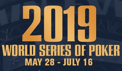 2019 WSOP Online schedule for bracelet events