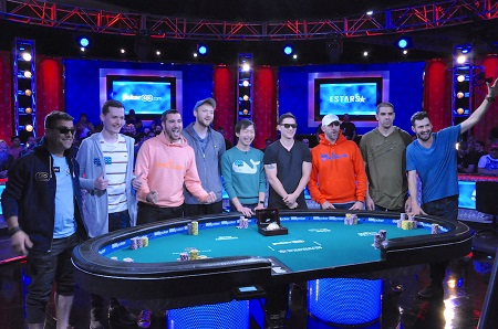 2019 WSOP: Germany's Hossein Ensan leads final table with 9 remaining