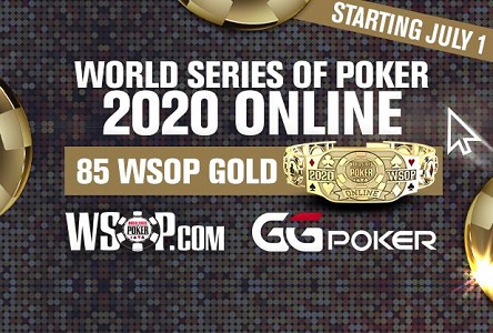 2020 WSOP goes online, 85 gold bracelets at GGPoker, WSOP.com