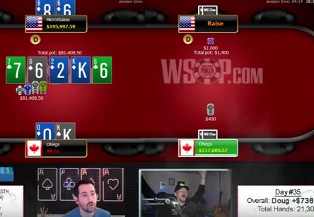 Polk and Negreanu play longest session to date, Kid Poker stuck $946K