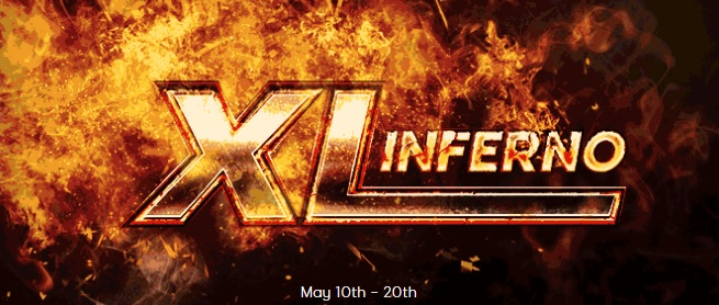 XL Inferno Series returns to 888 Poker on May 10
