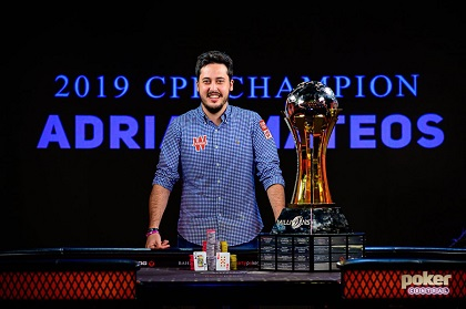 Adrian Mateos wins partypoker MILLIONS World Bahamas for $1.1 million
