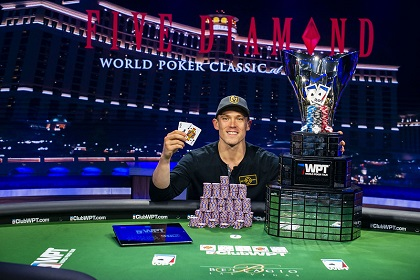 Alex Foxen wins WPT Bellagio Five Diamond Classic