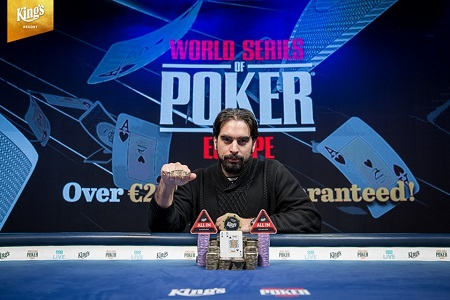 2019 WSOP Europe: Alexandros Kolonias wins 2019 Main Event for €1.13 million