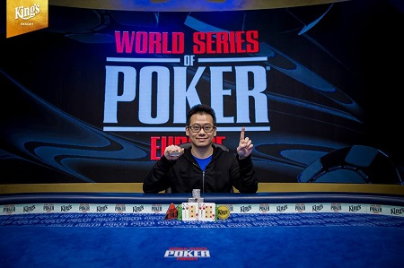 WSOP Europe: Anson Tsang wins Event #7 €2,200 PLO
