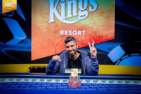 WSOPE: Asi Moshe wins second bracelet with win in Event #2 Deep Stack