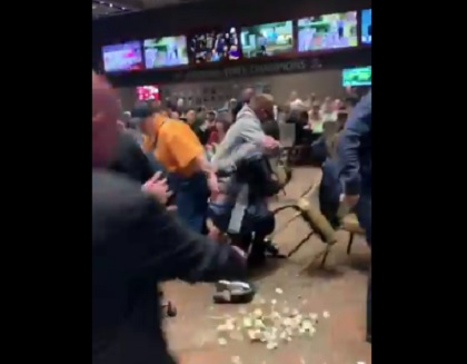 Poker fight at Talking Stick Casino in Arizona