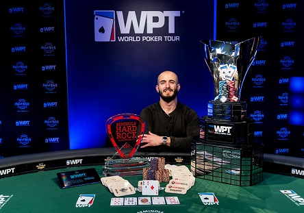 Brian Altman wins WPT Lucky Hearts Poker Open, First player to win same event twice
