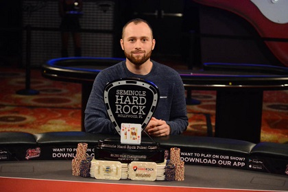 Brandon Eisen wins SHR Poker Open Main Event