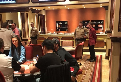 Bellagio poker room robbed
