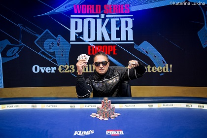 2019 WSOP Europe: Besim Hot wins €25,500 Mixed Games, denies Phil Hellmuth Bracelet #16