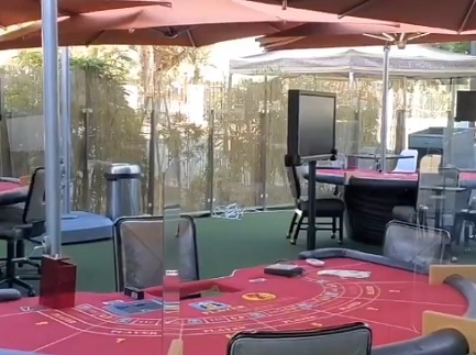 Bicycle Casino in LA reopens with outdoor table games and poker room