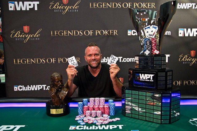 Aaron Van Blarcum wins 2019 WPT Legends of Poker