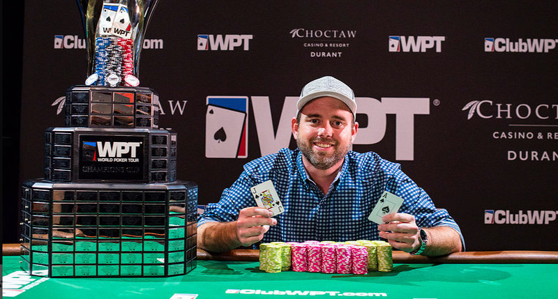 Brady Holiman wins WPT Choctaw for $469,185