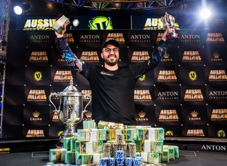 Bryn Kenney wins Aussie Millions Main Event for $1.27M AUD