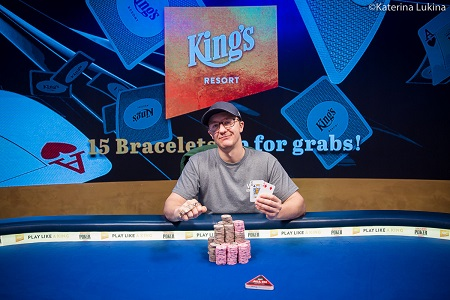 2019 WSOP Europe: Aussie pro Kahle Burns wins €25,500 Platinum High Roller