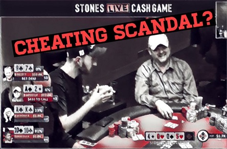 Mike Postle alleged cheating scandal on Stones Live Poker stream