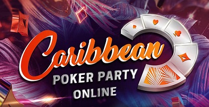 Caribbean Poker Party heads online to partypoker with 10 events