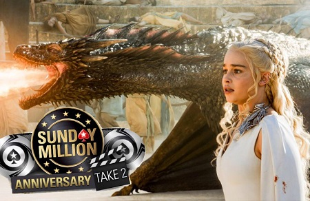 Daenarys T wins Sunday Million Take 2 for $1 million