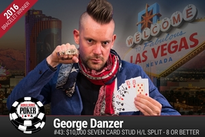 WSOP: George Danzer wins fourth-career bracelet in Stud 8 Championship