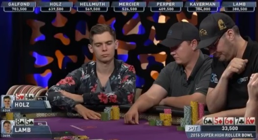 Super High Roller Bowl: Watch Day 3 live stream wth 16 remaining