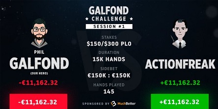 Galfond Challenge: Next up ActionFreak, five days a week